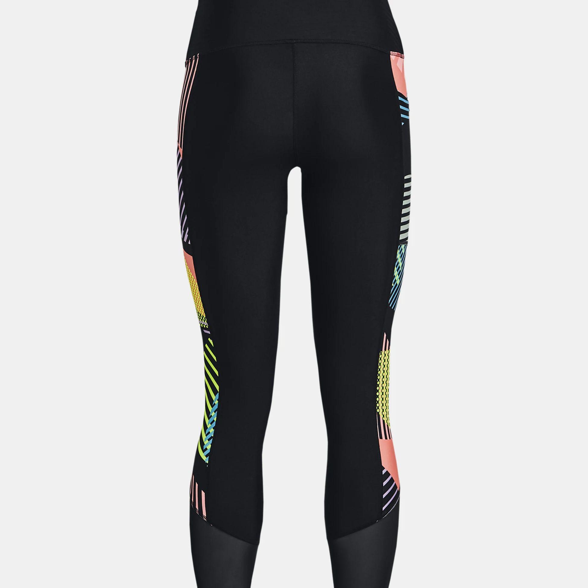 Îmbrăcăminte -  under armour HeatGear Armour No-Slip Waistband Geo Ankle Leggings