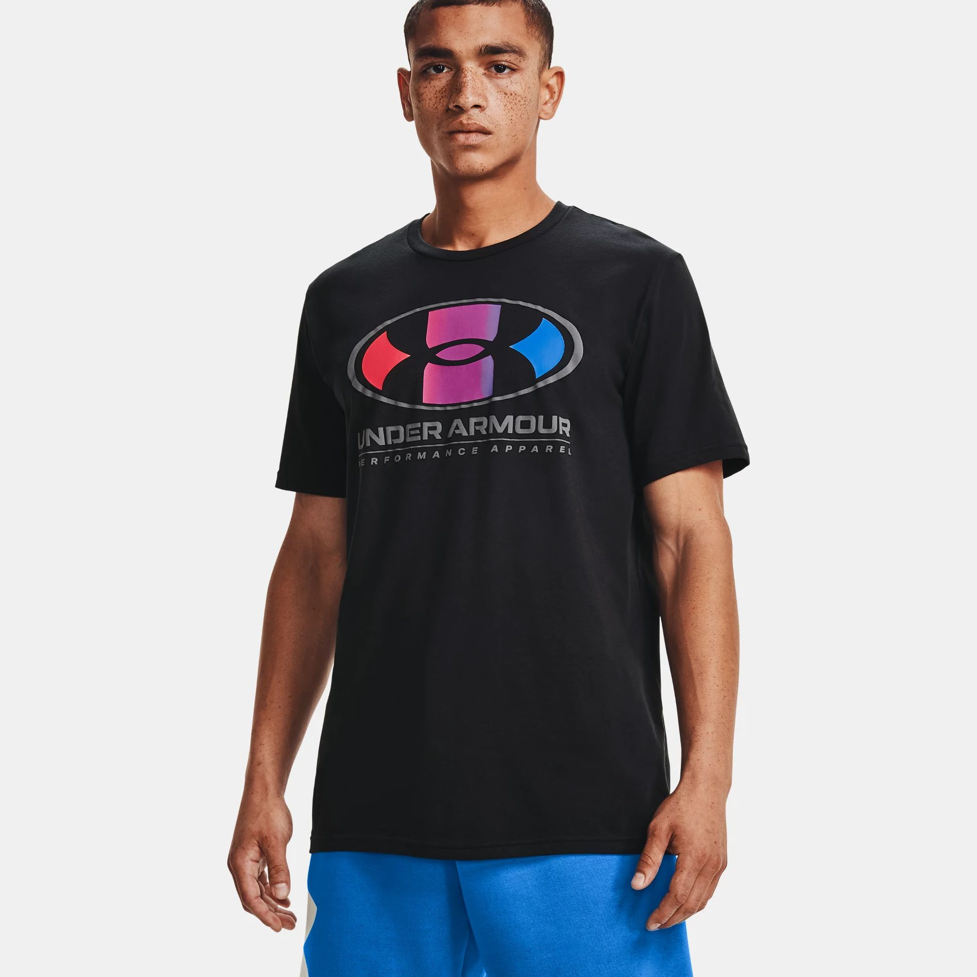 Îmbrăcăminte -  under armour Multi Color Lockertag Short Sleeve 1676