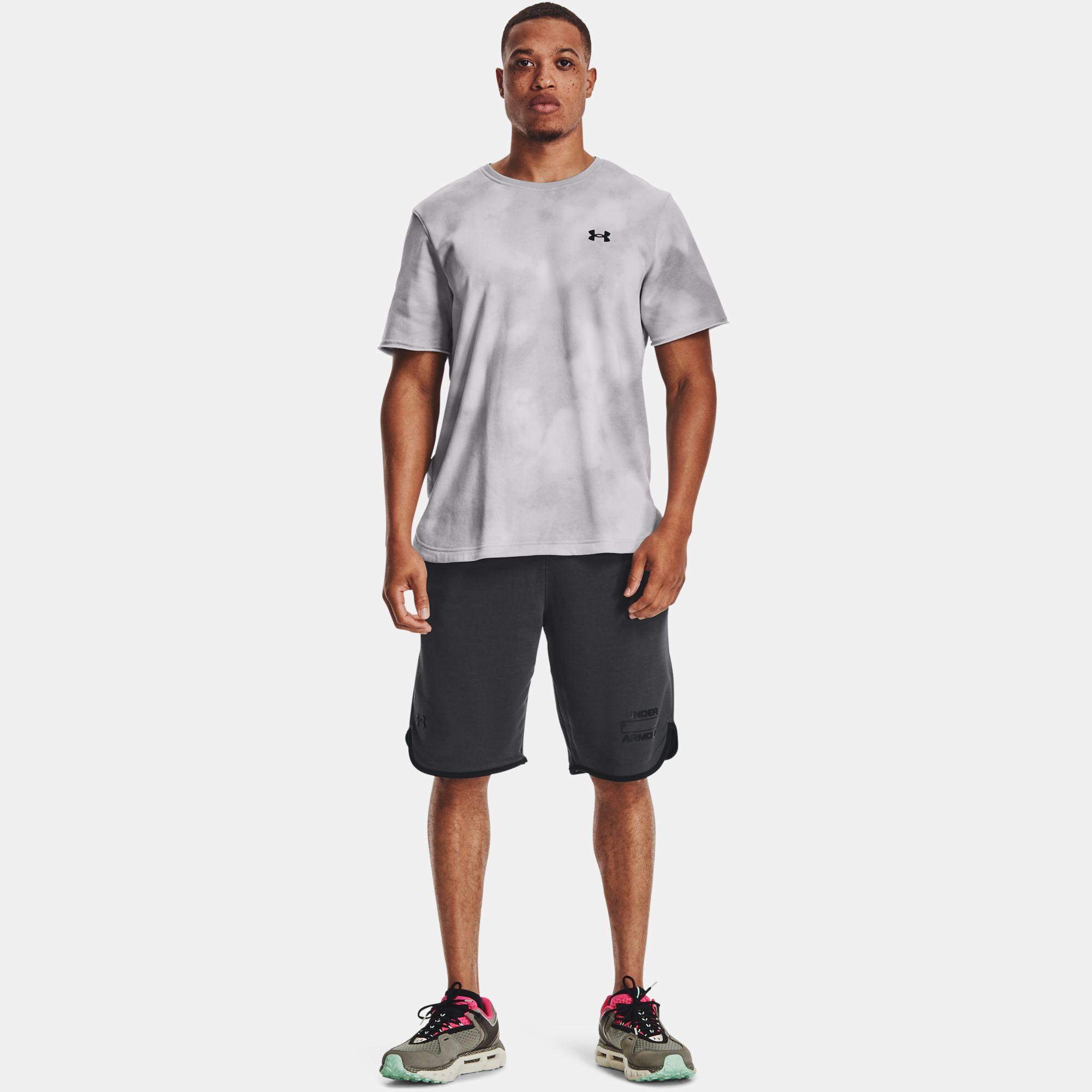 Îmbrăcăminte -  under armour UA Rival Terry Number Shorts