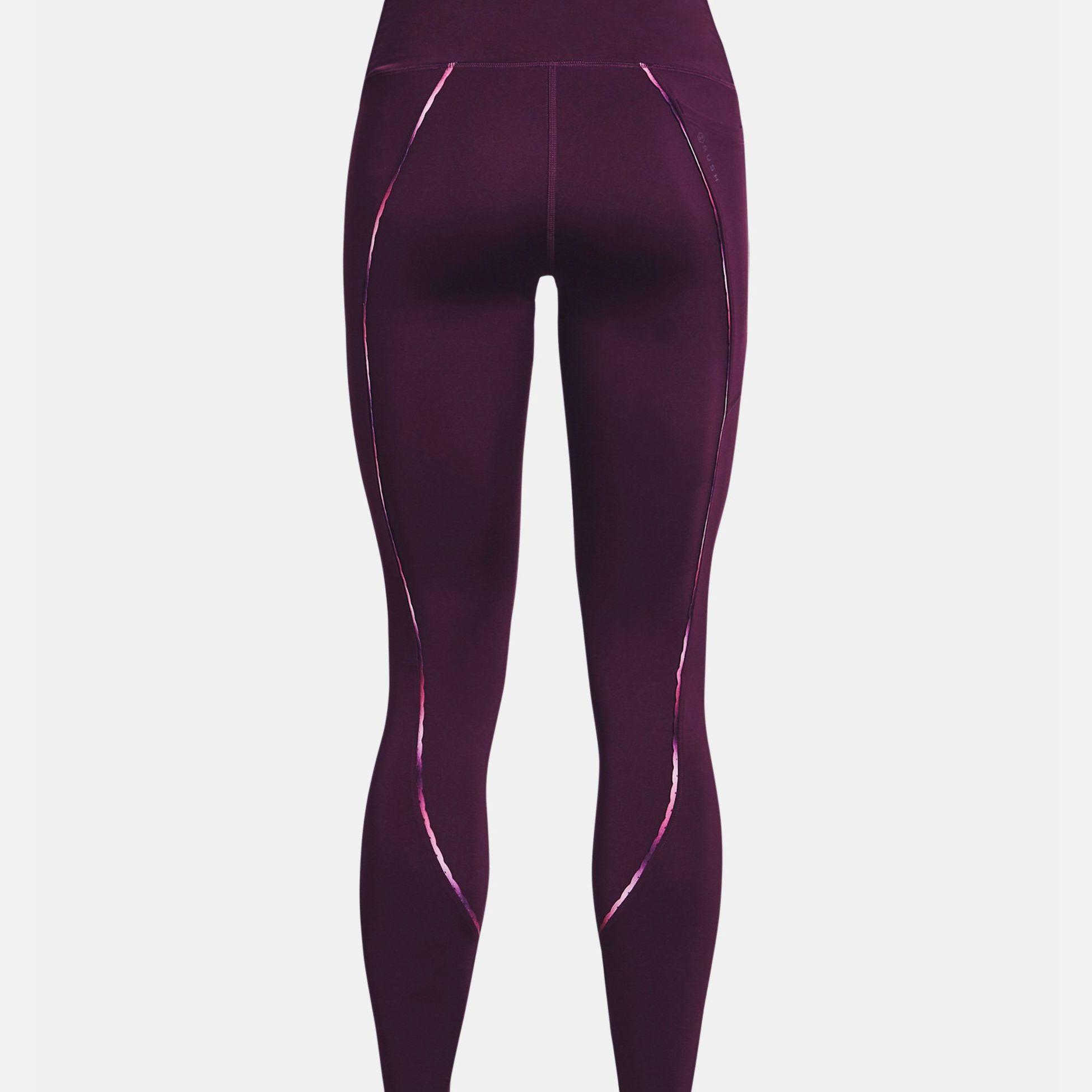 Îmbrăcăminte -  under armour UA RUSH No-Slip Waistband Scallop Leggings 5355