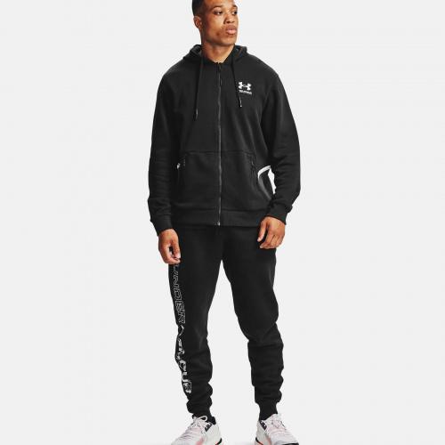 Îmbrăcăminte - Under Armour  UA Rival Fleece AMP Full Zip Hoodie 7113 | Fitness