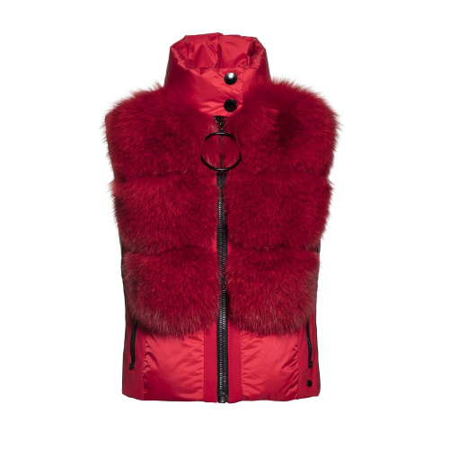 Geci Ski & Snow - Goldbergh Adda Bodywarmer Real Fox Fur  | Imbracaminte