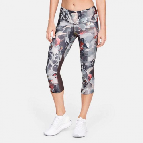 Imbracaminte - Under Armour Armour Fly-Fast Printed Capri 0321 | Fitness