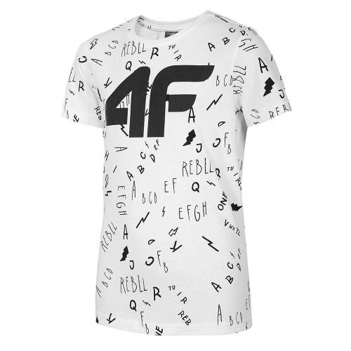 Îmbrăcăminte - 4f Boy T-Shirt JTSM002 | Fitness