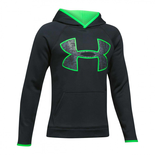 Imbracaminte - Under Armour Boys Armour Fleece Big Logo Hoodie 9342 | Fitness