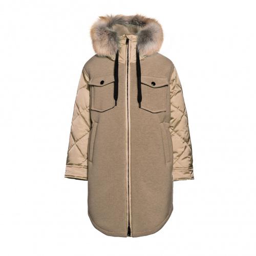 Geci Iarnă - Goldbergh COVER Jacket Real Fur | Imbracaminte