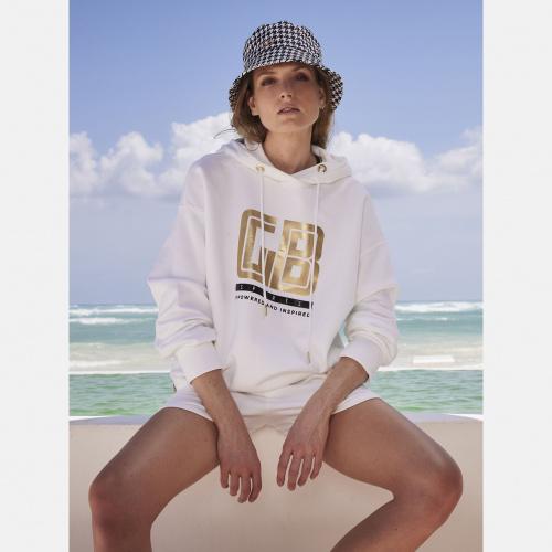 Îmbrăcăminte Casual - Goldbergh FIZA longsleeve hooded top | Sportstyle