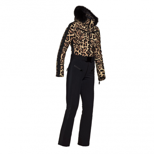 Geci Ski & Snow - Goldbergh LYNX Ski Suit real fox fur | Imbracaminte