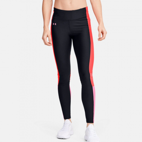 Imbracaminte - Under Armour HeatGear Armour Perf Inset Graphic Leggings 1725 | Fitness