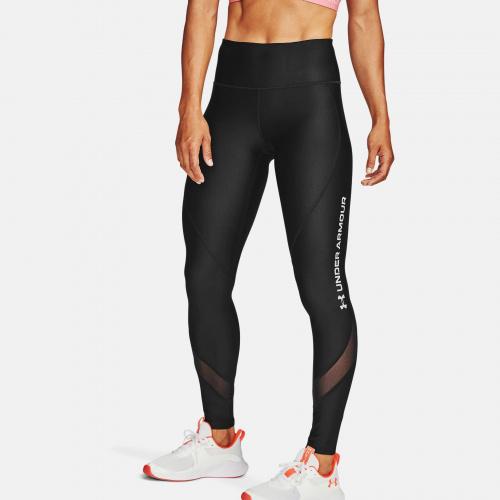 Îmbrăcăminte - Under Armour HeatGear Armour Wordmark Leggings 6409 | Fitness