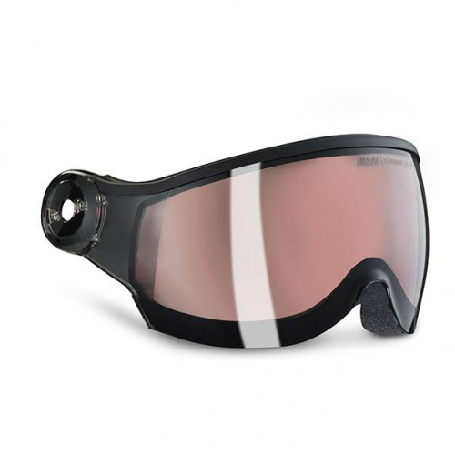 Cască Cu Vizor Ski - Kask PHOTOCROMIC SMOKE PINK VISOR - S1 S2 | Snowboard