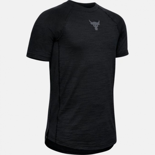 Imbracaminte - Under Armour Project Rock Charged Cotton T-Shirt 2690 | Fitness