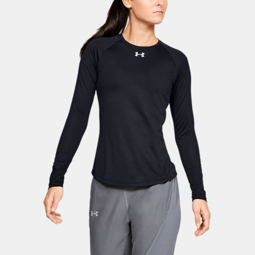 Imbracaminte - Under Armour Qualifier HexDelta Long Sleeve T-Shirt 6505 | Fitness