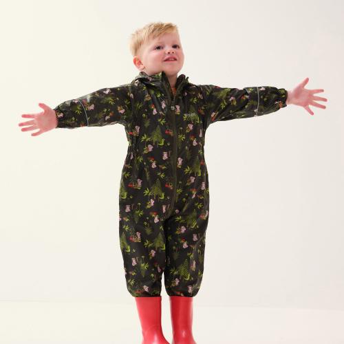 Îmbrăcăminte - Regatta Peppa Pig Pobble Waterproof Puddle Suit | Outdoor