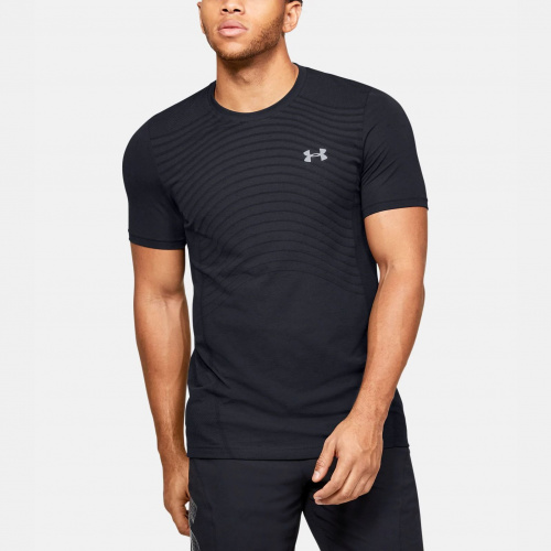 Imbracaminte - Under Armour Seamless Wave Short Sleeve 1450 | Fitness