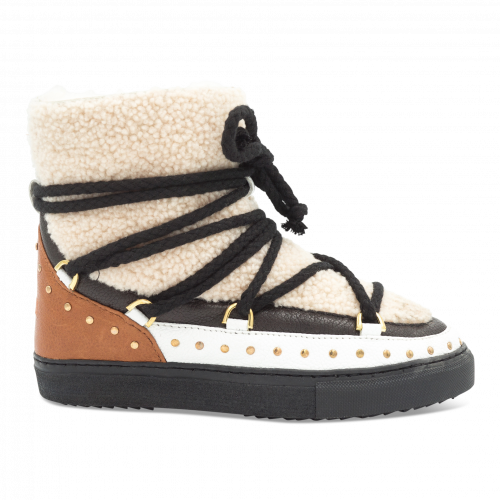 - Inuikii Sneaker Curly Rock Cream | Incaltaminte