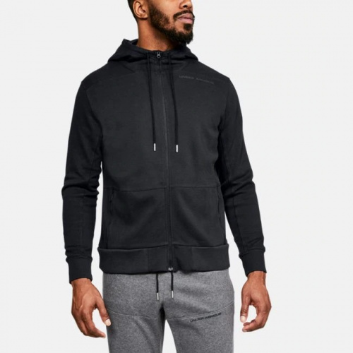 Imbracaminte - Under Armour UA Pursuit Microthread Full Zip Hoodie 7415 | Fitness