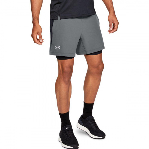 Imbracaminte - Under Armour UA Qualifier Speedpocket 2in1 Shorts 6601 | Fitness