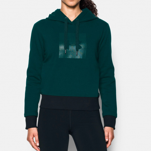 Imbracaminte - Under Armour UA Threadborne Fleece Graphic Hoodie 8592 | Fitness