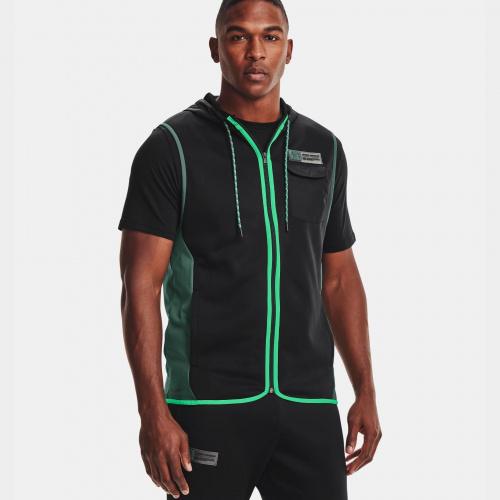 Îmbrăcăminte - Under Armour Armour Fleece Storm Hooded Vest | Fitness