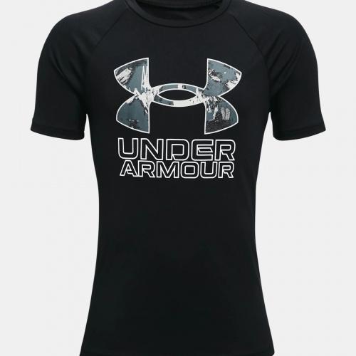 Îmbrăcăminte - Under Armour Boys UA Tech Hybrid Print Fill T-Shirt 3281   Fitness