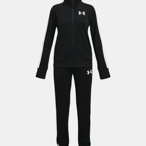 Îmbrăcăminte - Under Armour Girls UA Knit Track Suit 3380 | Fitness