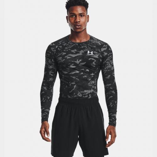 Îmbrăcăminte - Under Armour HeatGear Armour Camo Long Sleeve | Fitness