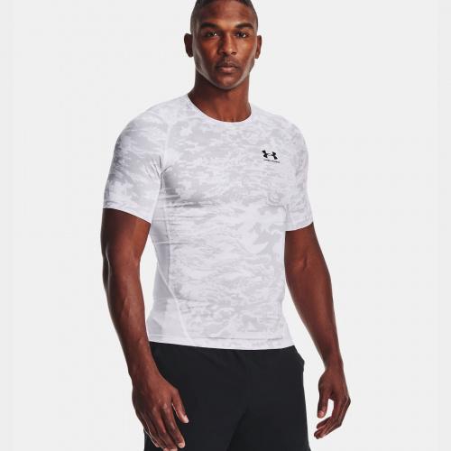 Îmbrăcăminte - Under Armour HeatGear Armour Camo T-Shirt 1519 | Fitness