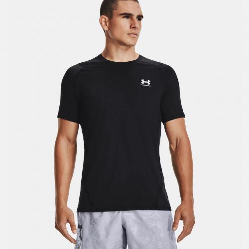 Îmbrăcăminte - Under Armour HeatGear Armour Fitted T-Shirt 1683 | Fitness
