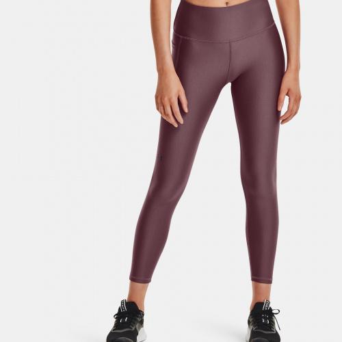 Îmbrăcăminte - Under Armour HeatGear Armour No-Slip Waistband Geo Ankle Leggings | Fitness