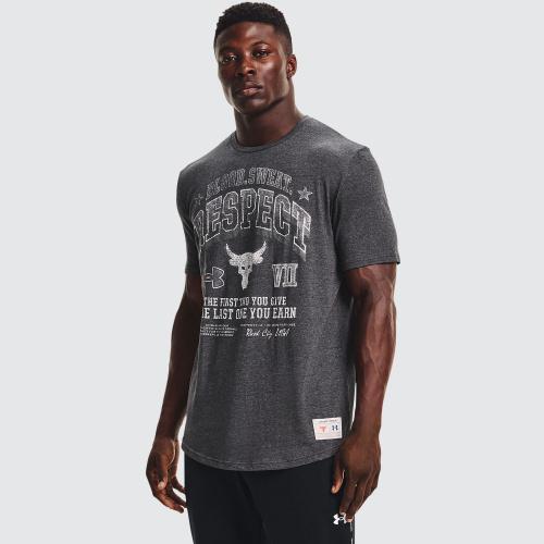 Îmbrăcăminte - Under Armour Project Rock BSR Short Sleeve   Fitness