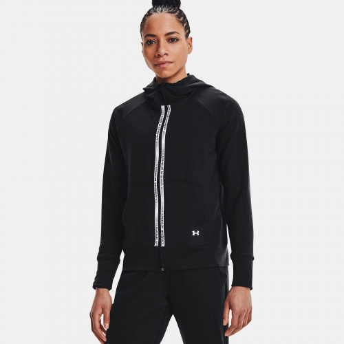 Îmbrăcăminte - Under Armour Rival Terry Taped Full Zip Hoodie | Fitness