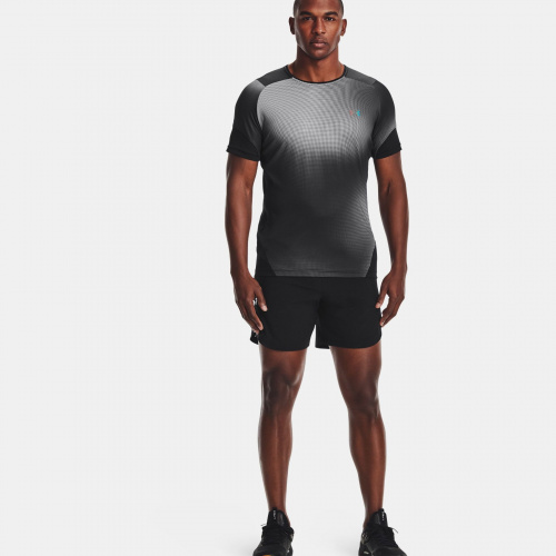 Îmbrăcăminte - Under Armour RUSH HeatGear 2.0 Print Short Sleeve 1425 | Fitness