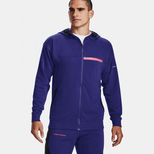 Îmbrăcăminte - Under Armour UA Rival Terry AMP Full Zip Hoodie 1595 | Fitness
