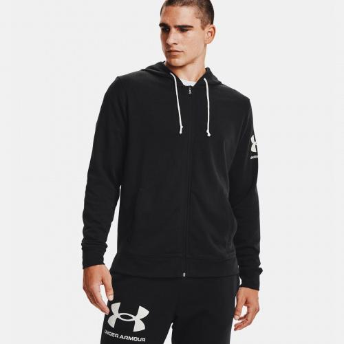 Îmbrăcăminte - Under Armour UA Rival Terry Full Zip Hoodie 1606   Fitness