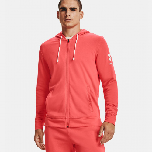 Îmbrăcăminte - Under Armour UA Rival Terry Full Zip Hoodie 1606 | Fitness