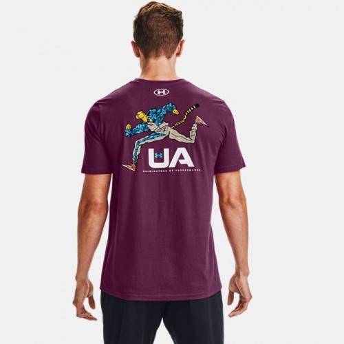 Îmbrăcăminte - Under Armour UA Running Cheetah T-Shirt | Fitness