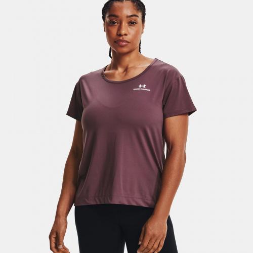 Îmbrăcăminte - Under Armour UA RUSH Energy Core Short Sleeve   Fitness