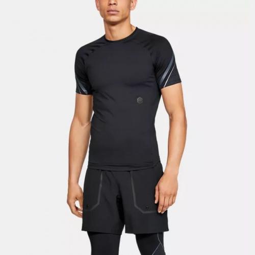 Îmbrăcăminte - Under Armour UA RUSH Graphic Short Sleeve 5196 | Fitness