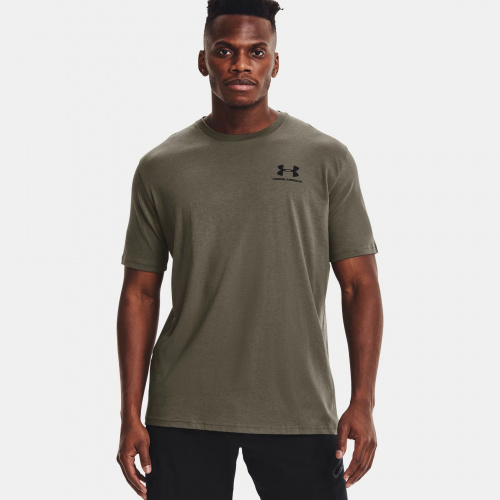 Îmbrăcăminte - Under Armour UA Sportstyle Left Chest T-Shirt 6799 | Fitness