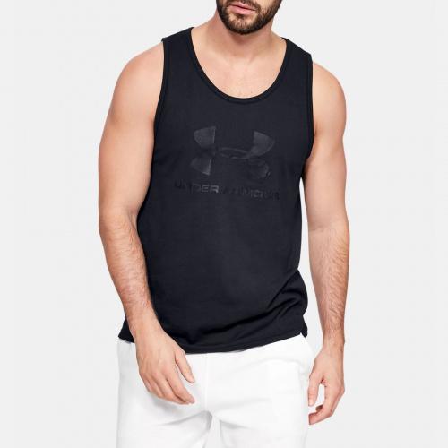 Îmbrăcăminte - Under Armour UA Sportstyle Logo Tank 9589 | Fitness