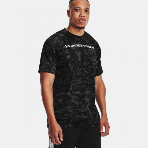Îmbrăcăminte - Under Armour UA Tech ABC Camo Short Sleeve 1698 | Fitness
