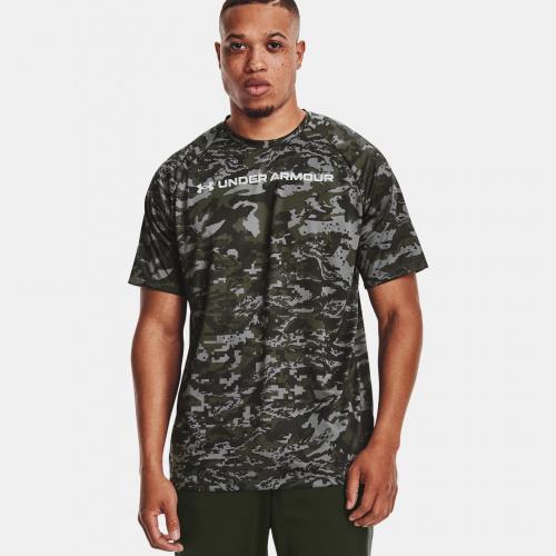 Îmbrăcăminte - Under Armour UA Tech ABC Camo Short Sleeve 1698 | Fitness