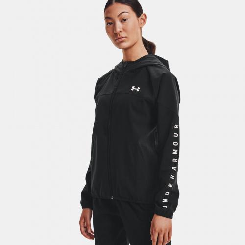 Îmbrăcăminte - Under Armour UA Woven Branded FZ Hoodie   Fitness