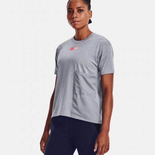 Îmbrăcăminte - Under Armour UA Woven Pocket T-Shirt   Fitness