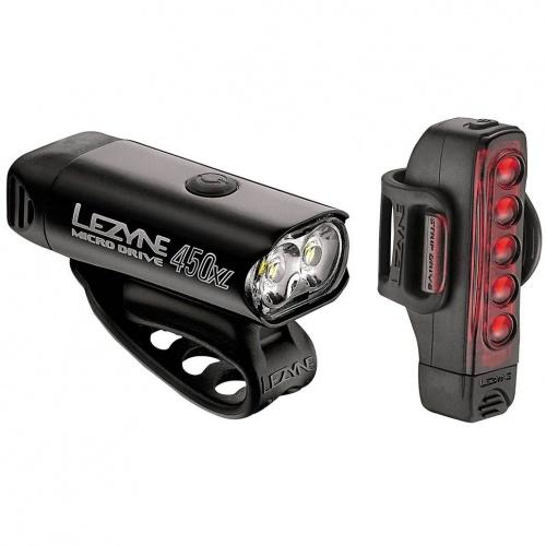 Lumini Si Sonerii - Lezyne Micro 450XL & Strip Drive | Biciclete-accesorii