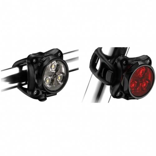 Lumini Si Sonerii - Lezyne Zecto Drive Set | Biciclete-accesorii