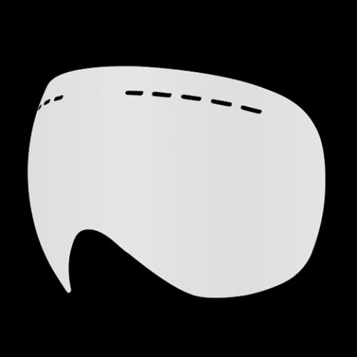 Ochelari Ski & Snow - Dr. Zipe Headmaster Sparelens Clear | echipament-snow