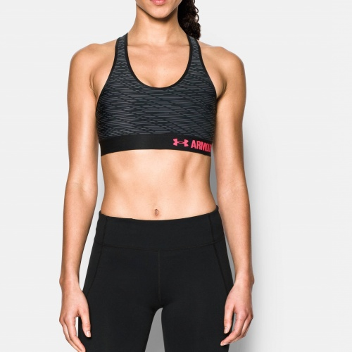 Imbracaminte - Under Armour Armour Mid - Printed Bra | fitness