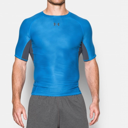 Imbracaminte - Under Armour Armour Printed Comp. Shirt | fitness